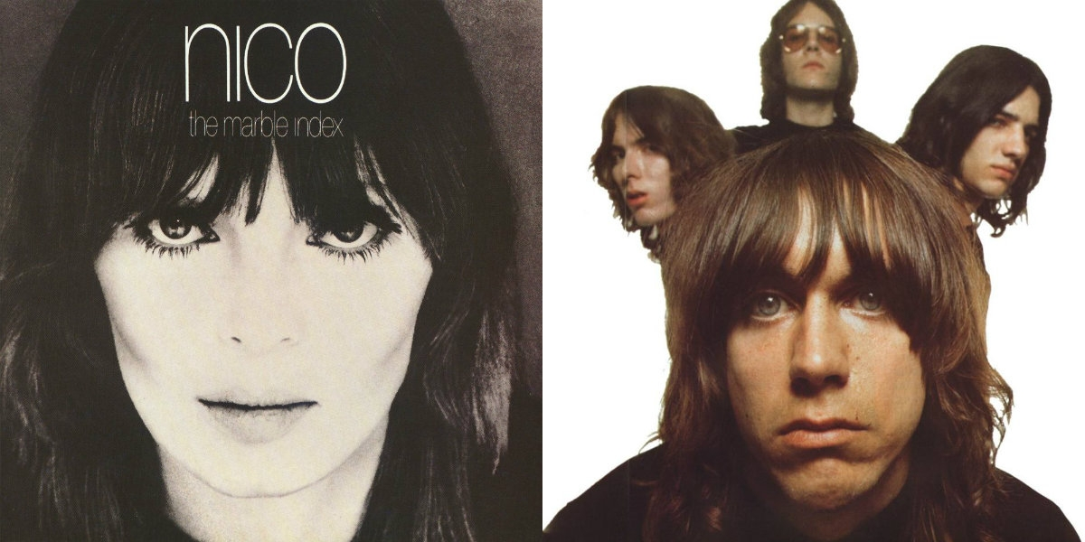 Like the 'Wicker Man' on heroin: Nico and a young Iggy Pop in 'Evening of Light,' 1969