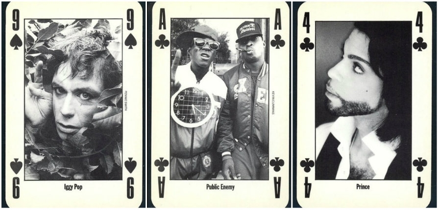 Public Enemy, Iggy Pop, PJ Harvey, The Pixies & Prince: NME's playing card set from 1991