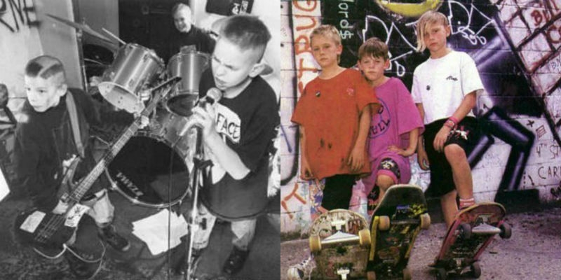 Never too young to rock 'n' roll: The third grade punk of Old Skull