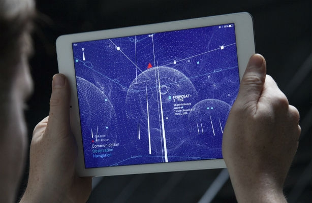 What if your naked eye could see wifi signals?