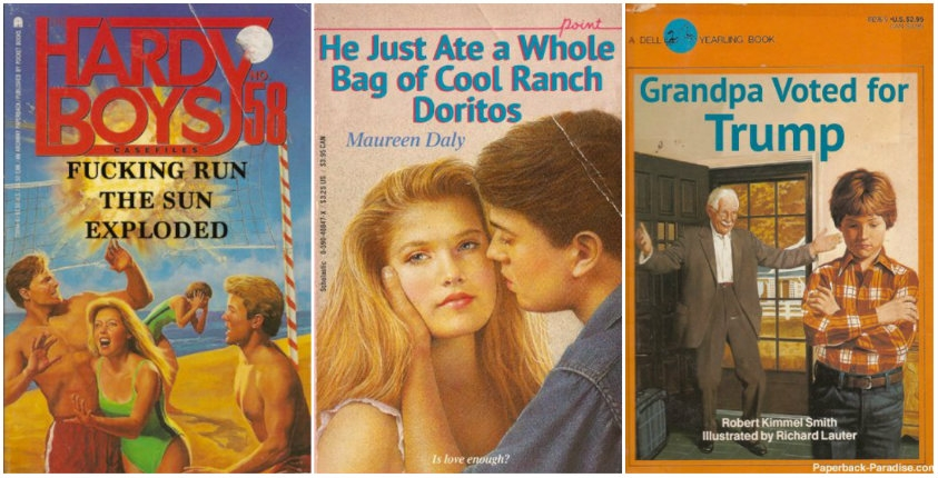 Check out the amazing 'Paperback Paradise' (and then go apologize to God)