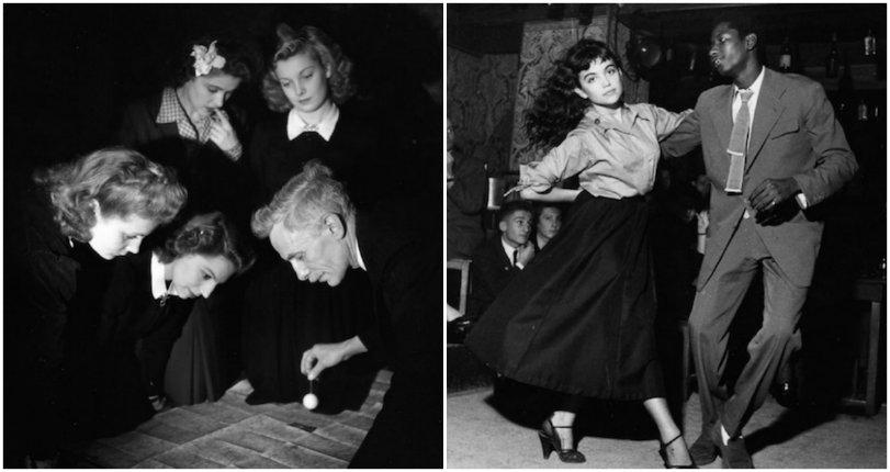 Intimate photographs of post-war Paris