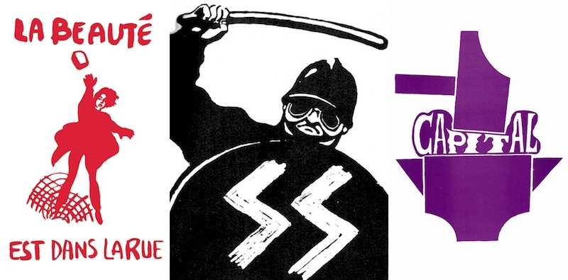 There's a riot going on: Posters of resistance from Paris 1968