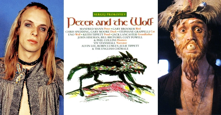 Brian Eno, Phil Collins, Viv Stanshall & more in prog-rock version of 'Peter and the Wolf'