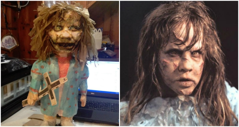 Horror movie-themed piñatas based on 'The Evil Dead,' 'The Exorcist,' 'Halloween' & more