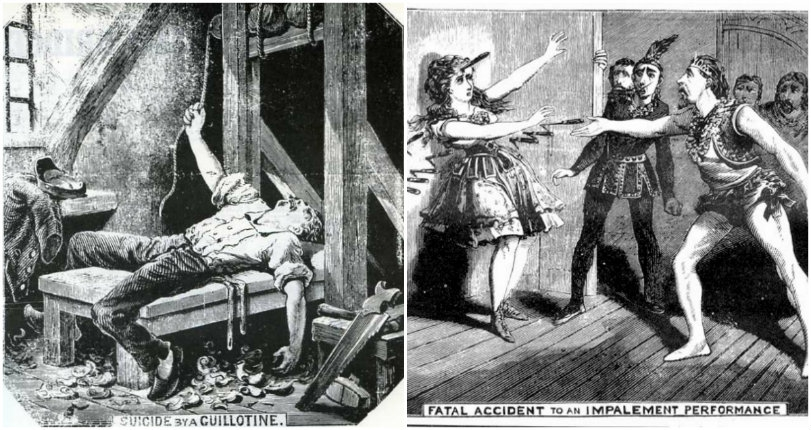 Murder, self-crucifixion & suicide by guillotine: Old-school paper 'The Illustrated Police News'