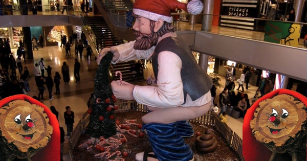 Turd-related Christmas traditions of the Catalans