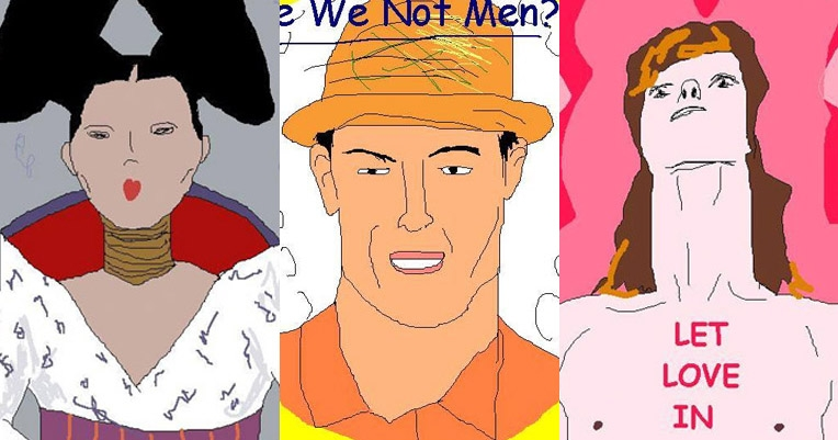 'Poorly Drawn Album Covers': Your Facebook time waster for the day