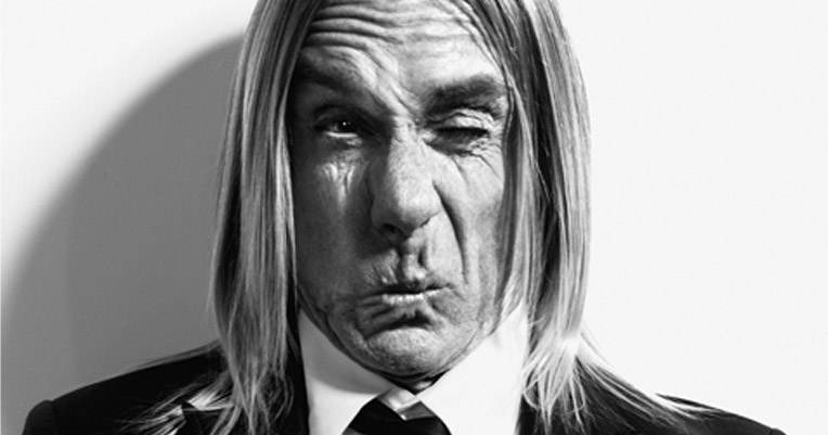 Iggy Pop and his pop, for pop