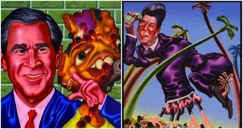 Better Call Saul: The surreal, politically-charged Pop Art of Peter Saul