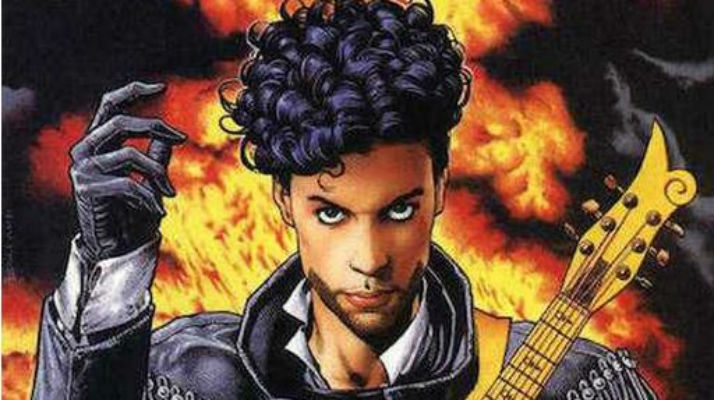 Prince, His Purple Badness as a DC Comics Superhero