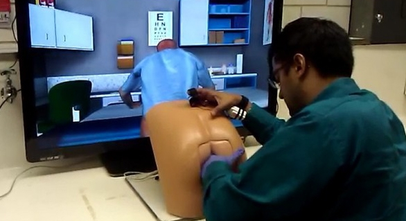 Meet 'Patrick': The robotic proctology-simulation ass