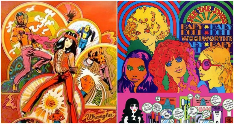 Vintage flashback-inducing psychedelic ads from the 60s and 70s that will give you a contact high