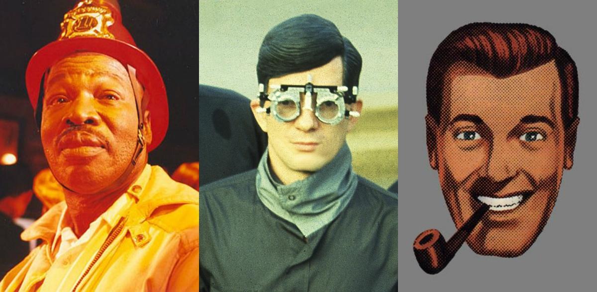 Rudy Ray Moore, Mark Mothersbaugh, Timothy Leary, Steve Albini, David Yow in 'Duelin' Firemen'