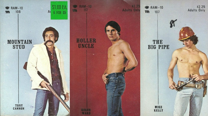 Dig these awesome 'gay pulp' paperback covers from the 1970s