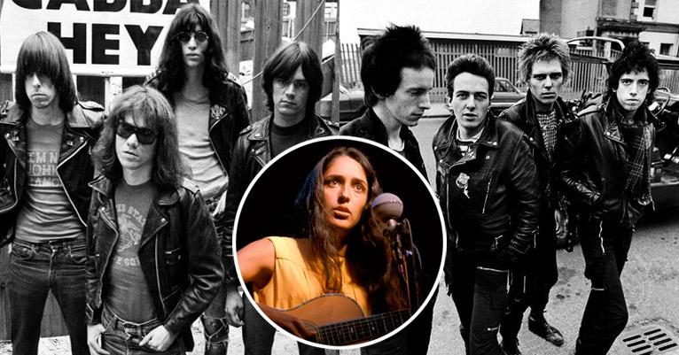 Johnny Ramone compares the Clash to Joan Baez on Minneapolis TV, 1978