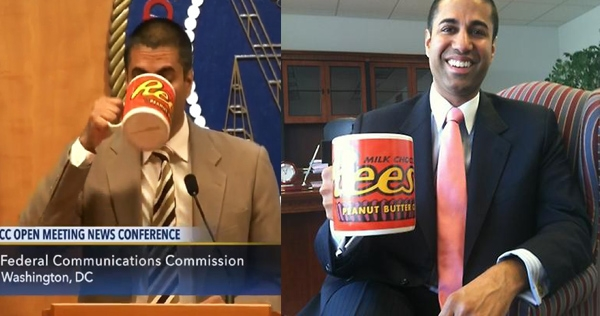 The Internet wants Reese's to do something about net neutrality murderer Ajit Pai