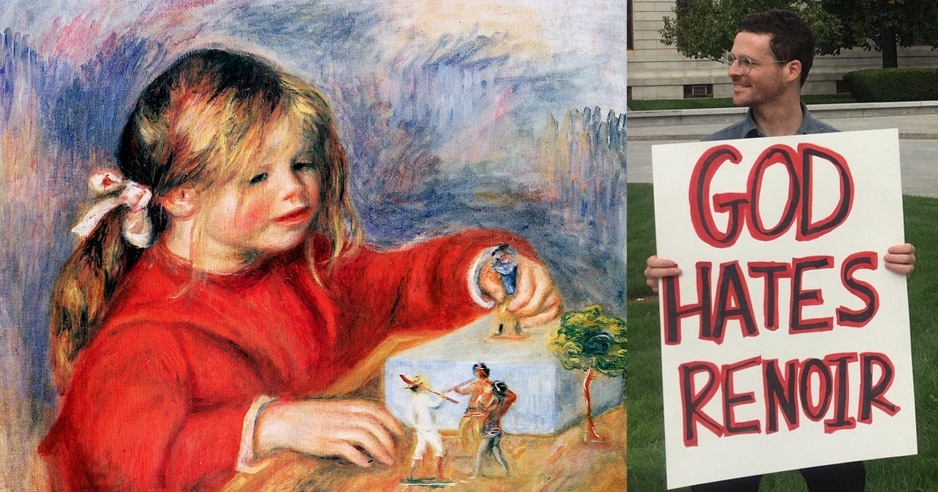 Renoir haters descend on Boston to stop the scourge of Impressionism