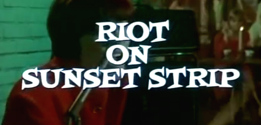 'Riot on Sunset Strip': Watch the Standells and Chocolate Watchband in this exploitation classic
