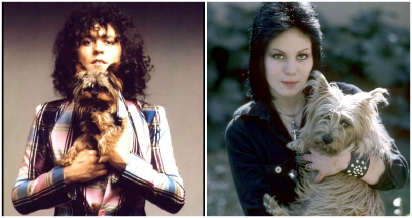 Marc Bolan, Andy Warhol, Joan Jett & other famous folk with their dogs, for your election 2016 blues