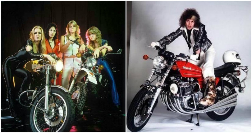 Easy riders: The Runaways, Marc Bolan, Frank Zappa & many more rock stars on motorcycles