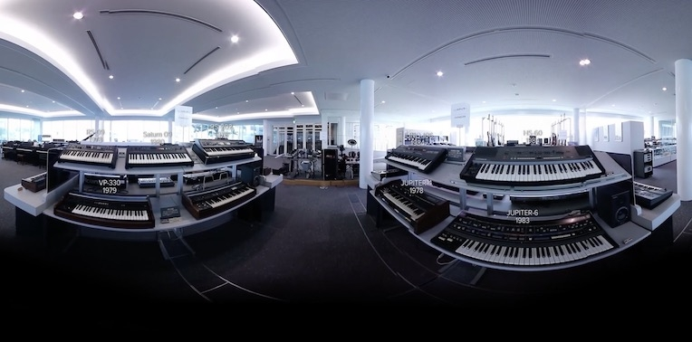Take a super-groovy virtual tour of Roland's synthesizer museum