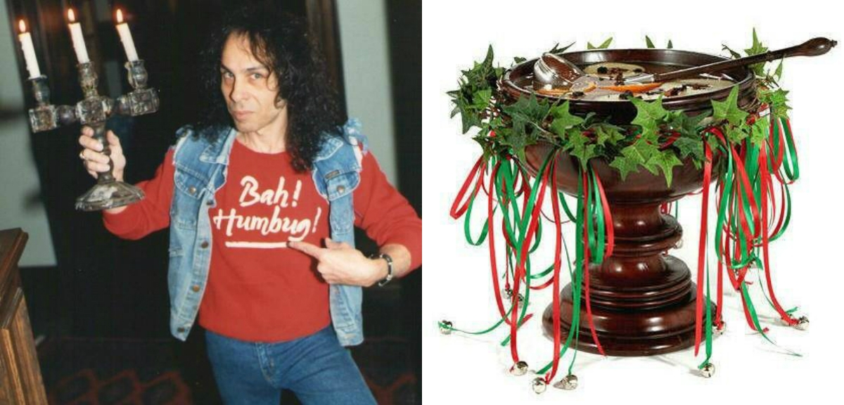 Ronnie James Dio's recipe for a wassail bowl