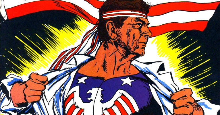 'Reagan's Raiders': INSANE '80s ultra-patriot superhero comics