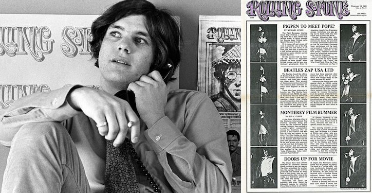 An early Rolling Stone promotion sent every new subscriber a free roach clip!