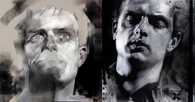 Russell MacEwan's evocative portraits of Joy Division's Ian Curtis