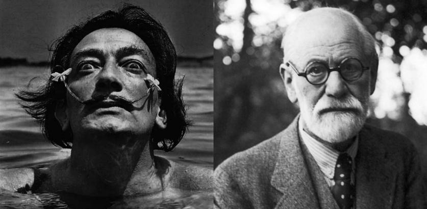 'Freud's cranium is a snail!' Salvador Dalí was sure Sigmund Freud had a 'spiral brain'
