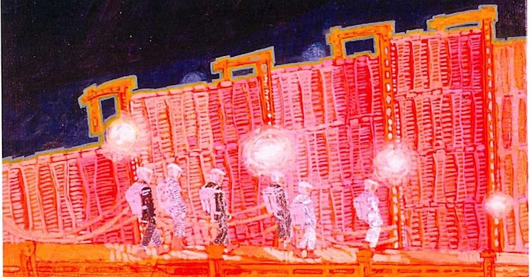 Astonishing illustrations from the set of Kubrick's '2001: A Space Odyssey'
