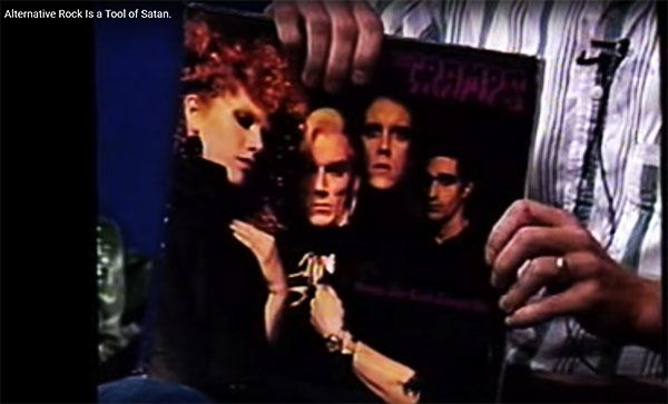 'Satanic Panic' era televangelist has the hippest 'alternative rock' record collection