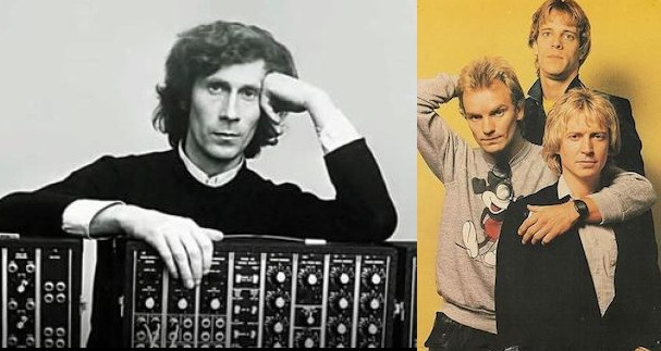 The German electronic music made by all three guys from the Police but totally wasn't the Police