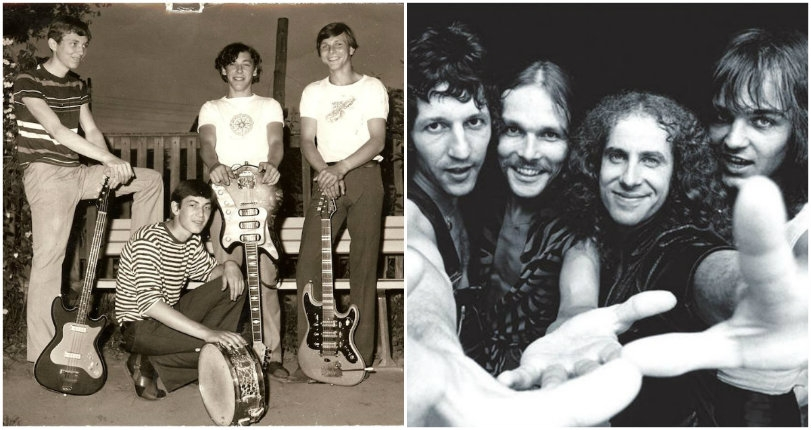 Surreal photos of the Scorpions from the mid-60s way before they looked like the Scorpions