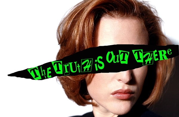 Scully is a punk: 'X Files' Gillian Anderson, teenage delinquent