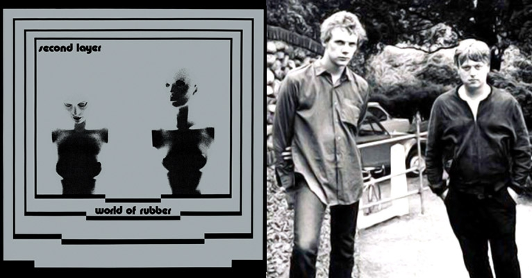 Stream 'World of Rubber' by '80s electronic post-punks Second Layer, featuring members of The Sound