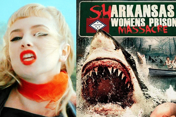 Traci Lords' new Women in Prison-cum-Sharksploitation flick: 'Sharkansas Women's Prison Massacre'
