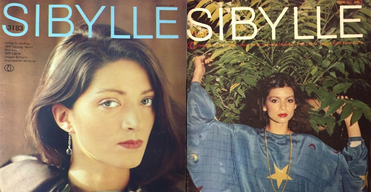 East Germany's leading fashion magazine, Sibylle
