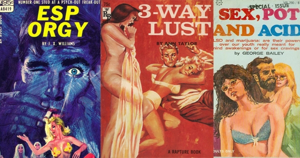 The delightfully sleazy sex paperbacks of the 1960s
