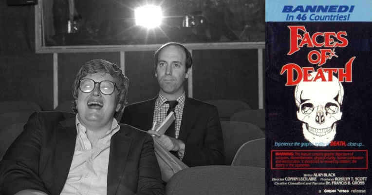 Siskel and Ebert give 'Faces of Death' two thumbs down, 1987