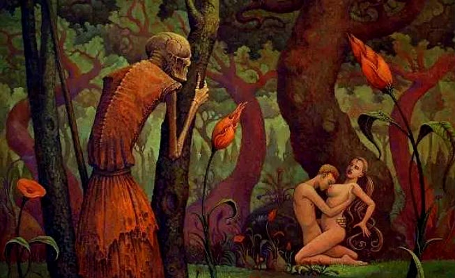 Sex, Satan and surrealism: The unsettling erotica of Michael Hutter