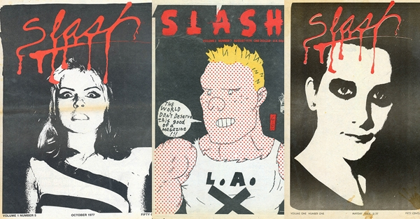 The entire print run of classic punk Slash magazine is now online