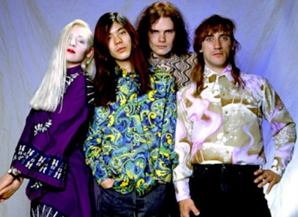 The Smashing Pumpkins—very early on—live for an hour on a local Chicago TV show, 1988
