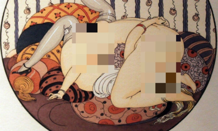 The gorgeous lesbian erotica of Gerda Wegener