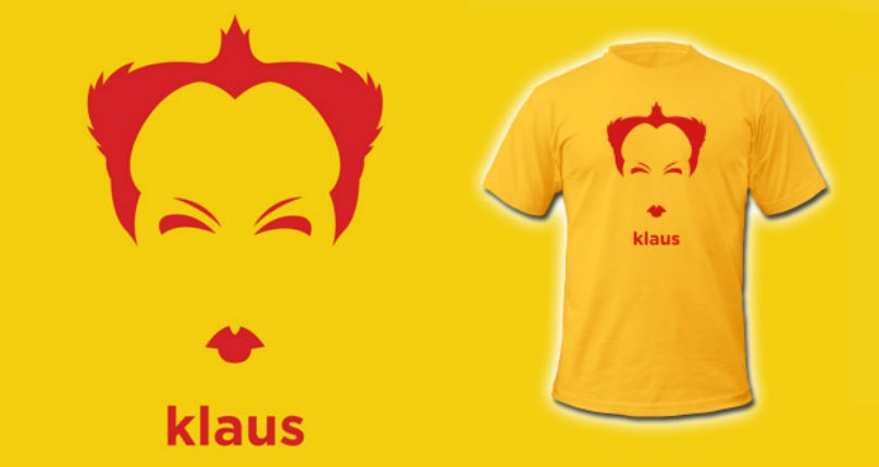 Cool T-shirts featuring Ken Russell, Klaus Nomi, John Waters, Sylvia Plath & more