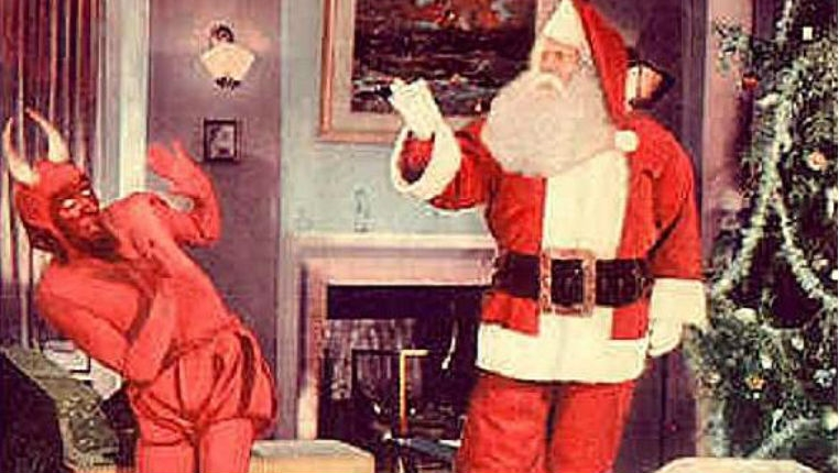 Holiday weirdness: Santa Claus battles the Devil to a psyche-rock soundtrack