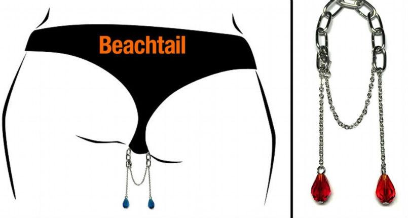 Bikini butt charms are a thing