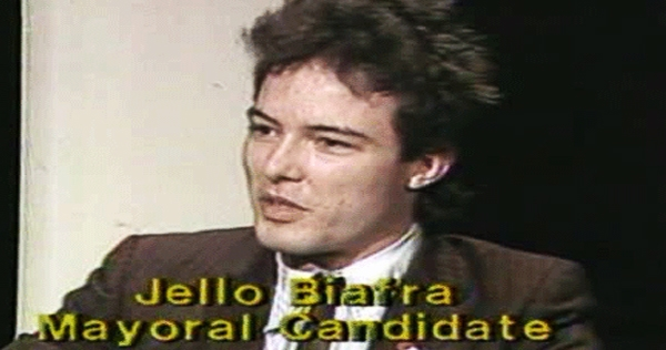 Jello Biafra for Mayor of San Francisco, 1979: 'If he doesn't win, I'll kill myself!'