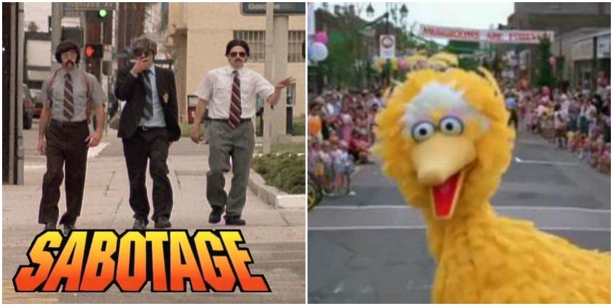 Big Bird does Beastie Boys' 'Sabotage'